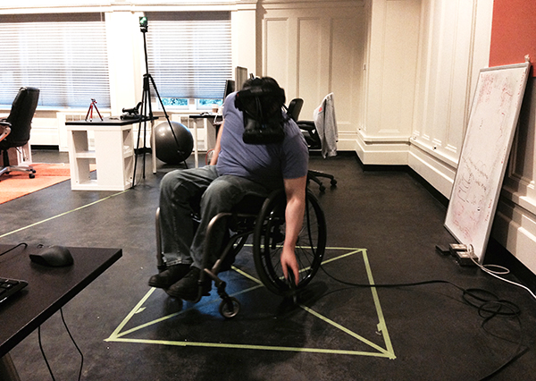 The user is disabled: solving for physical limitations in VR